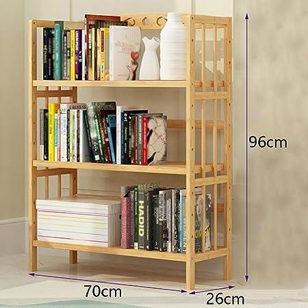 TH Modern Minimalist Desktop Bookshelf Simple Shelf Child Bookcase Student Storage Rack Size 70cm