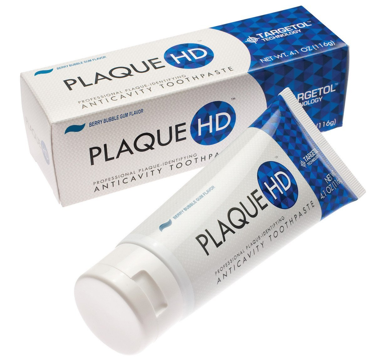 Plaque HD Toothpaste  (Berry Bubble Gum)