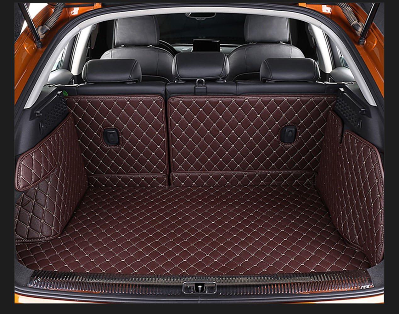 Pegasuss 3D Full Coverage Waterproof Car Trunk Mat For Porsche Macan-Brown