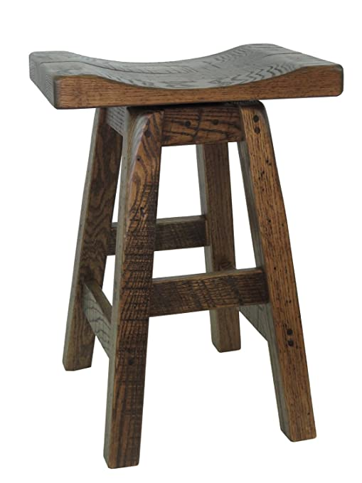 Super Amazon Com Barn Wood Saddle Swivel Bar Stool 30 Seat Pdpeps Interior Chair Design Pdpepsorg