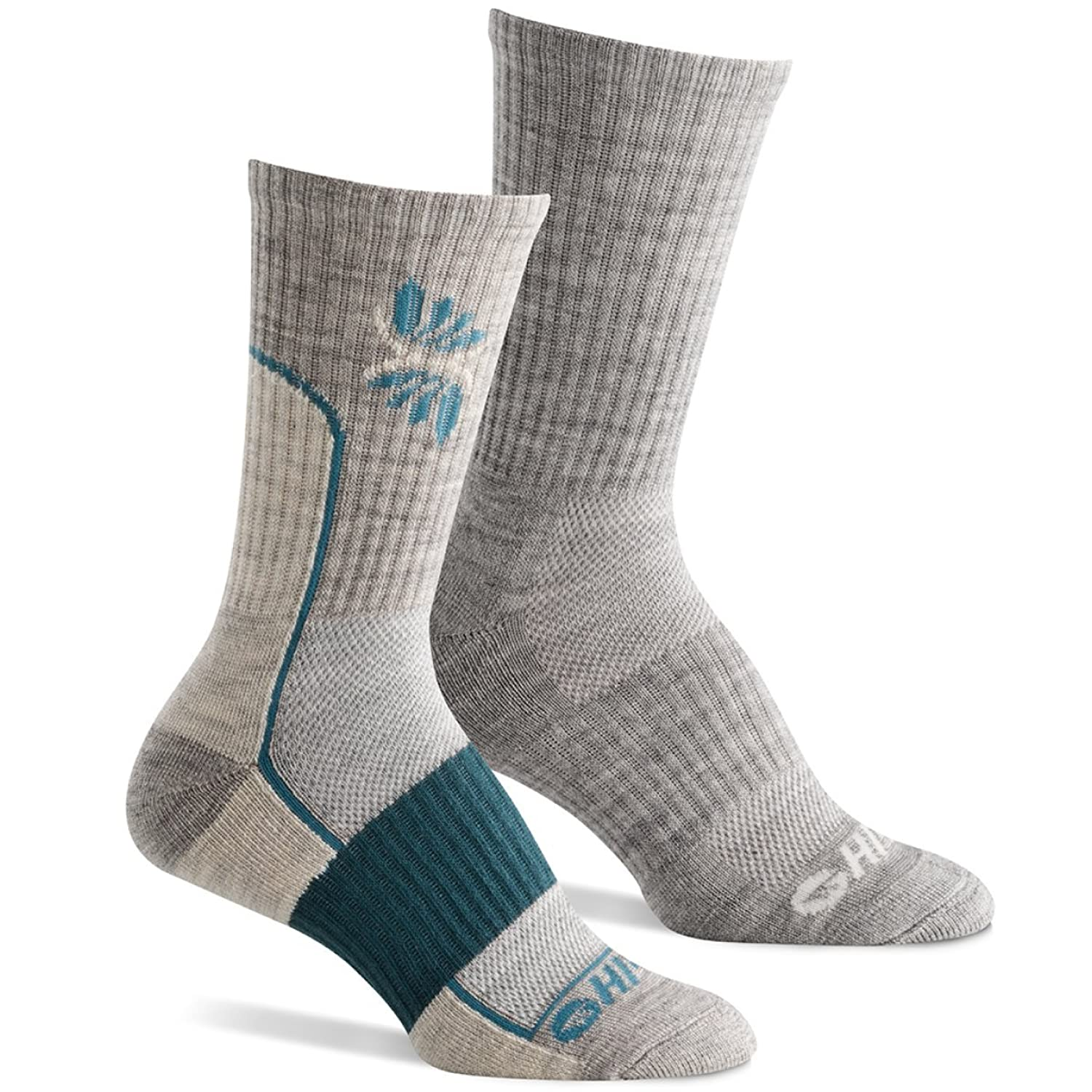 Hi-Tec Women鈥檚 Performance Hiking Socks for Outdoors, Casual Use (Pack of 2 Pairs) 鈥