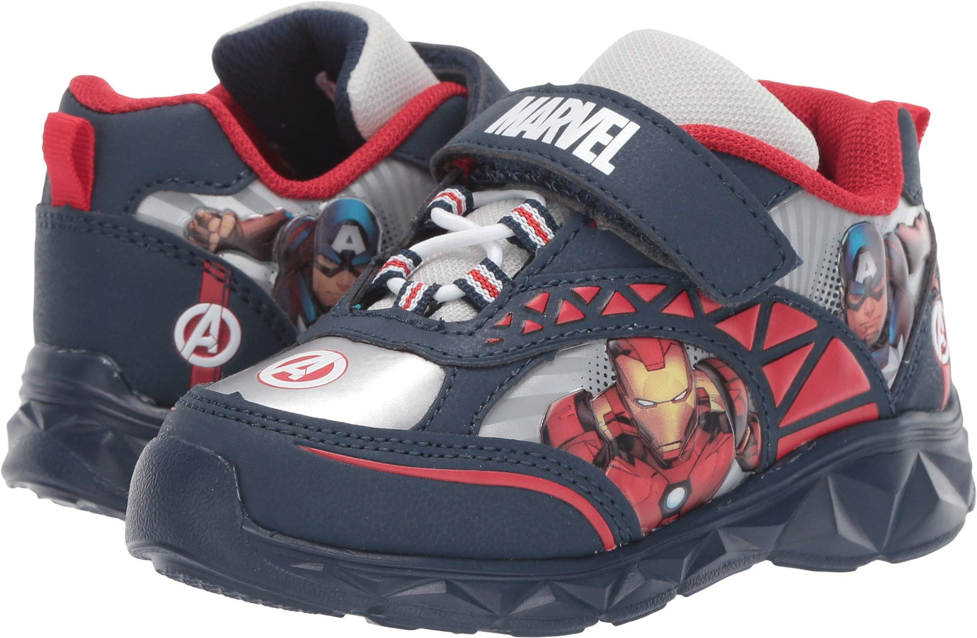 Favorite Characters Baby Boy's Avengers¿ Lighted AVS360 (Toddler/Little Kid) Navy 10 M US Toddler