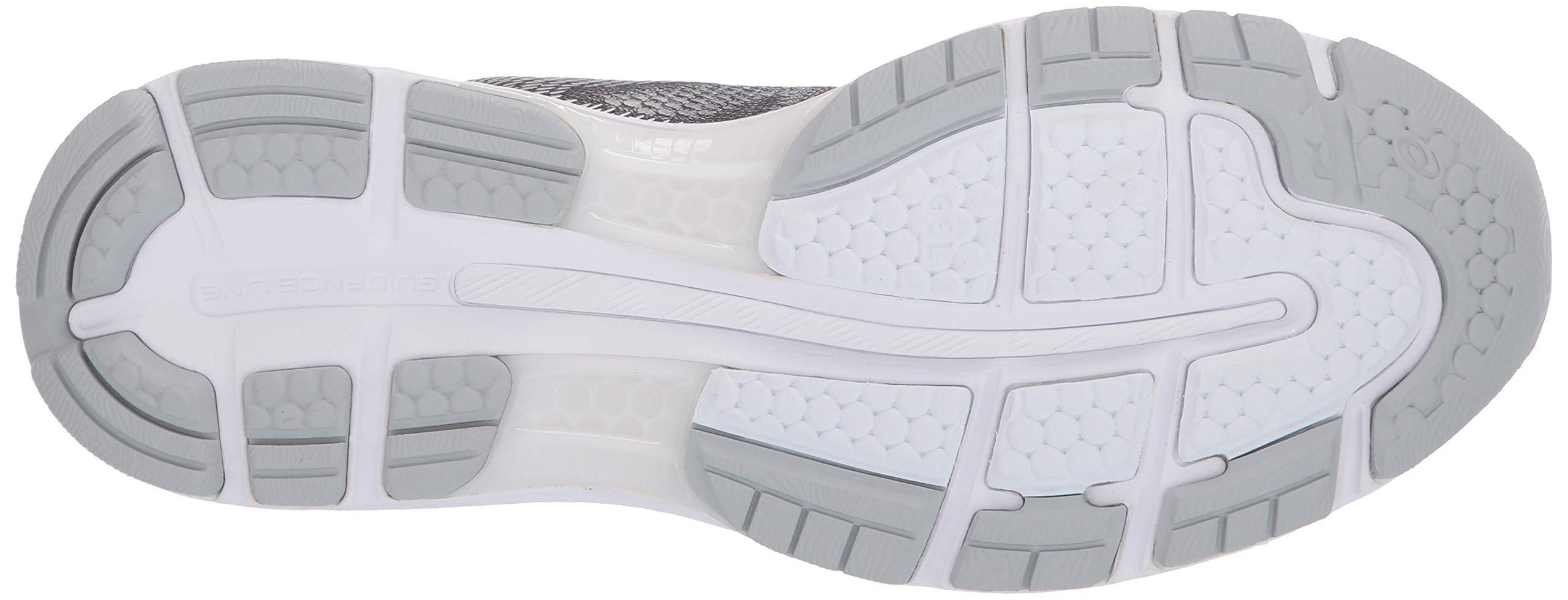 ASICS Mens Fitness/Cross-Training Trail Running Shoe, Carbon/Silver/White, 7 Medium US by ASICS (Image #3)