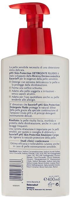 Eucerin pH5 Gel de Baño - 400 ml: Amazon.es: Belleza