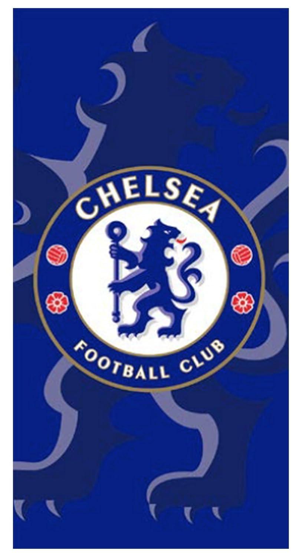 MANAGAL CH 50003 Chelsea - Drap de Plage Coton Bleu 75 x 150 x 1 cm