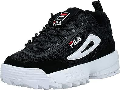 Zapatos Mujer Zapatillas FILA Disruptor Mesh Low WMN en Tela Negra 1010606-25Y: Amazon.es: Zapatos y complementos
