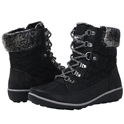 GLOBALWIN Women s 1818 Black Snow Boots 9M 3eddce124