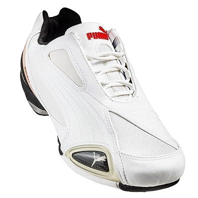 Puma Testastretta II TM Ducati 303141 02 Herren Sneakers Freizeitschuhe Weiß 39