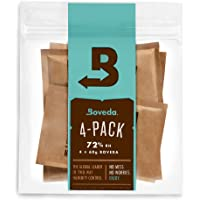 Boveda 2 Way Humidification System 72% 4 Pack for Case Seasoning