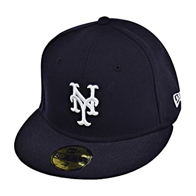 31b57a30396ba ... promo code for new era new york mets 59fifty mens fitted hat cap navy  blue white