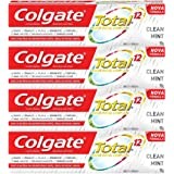 Creme Dental Colgate Total 12 Clean Mint 90g , Kit com 4 unidades