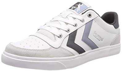 lowest price a9e03 e30ea Amazon.com | Hummel Unisex Adults' Stadil Low-Top Sneakers ...