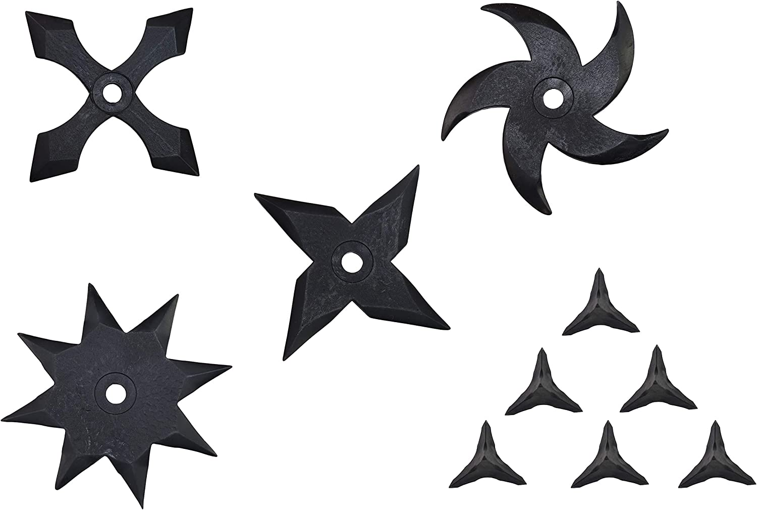 5 pieces set Roppo Ninja Rubber Throwing Star