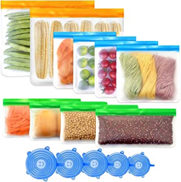 Reusable Silicone Freezeer Storage Bags