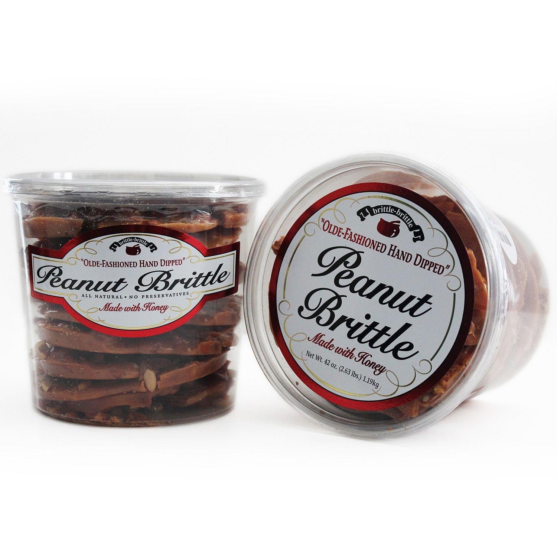 Brittle-Brittle Gourmet Peanut Brittle 42oz