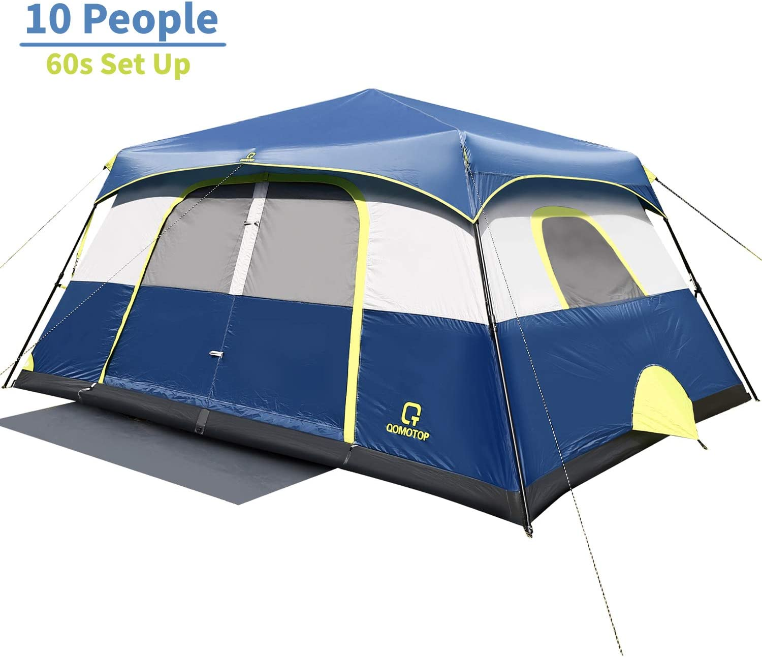 QOMOTOP Camping tent with cord access