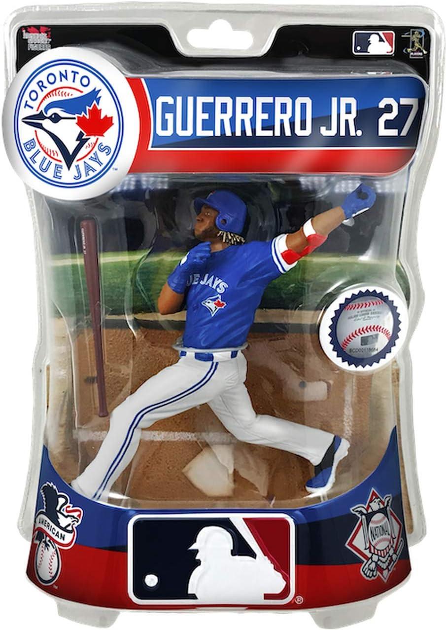 "Toronto Blue Jays Imports Dragon Baseball Action Figure 6/"" Vladimir Guerrero Jr"