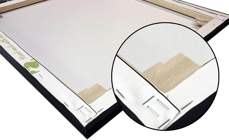 Format 20 x 20 cm Art Discounter A05533 Lotus Fleurs Impression sur Toile