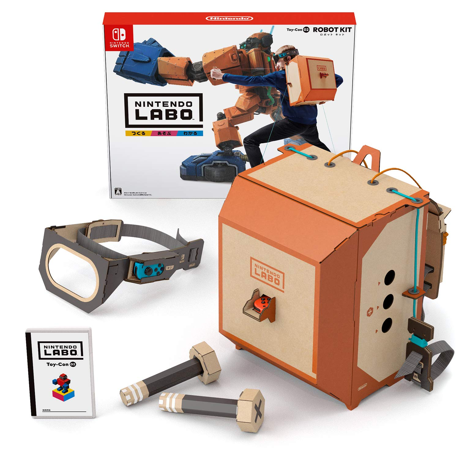 Nintendo Labo Toy-Con 02 Robot Kit – Switch Japanese Ver.