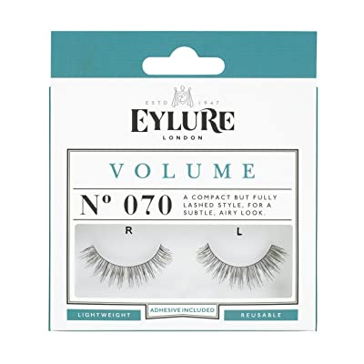 (Pairs) Eylure Volume #070, Adhesive Included by Eylure
