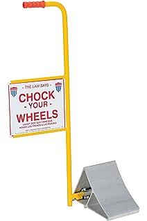 8 Width 11 Length 8 Width 9 Height 11 Length Vestil Manufacturing Corp 9 Height Vestil FAB-11 Formed Steel Wheel Chock