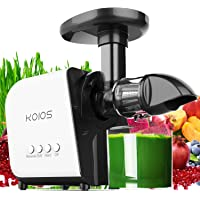 KOIOS Slow Masticating Extractor Machines Juicer