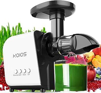 Koios Slow Masticating Extractor Machines Juicer