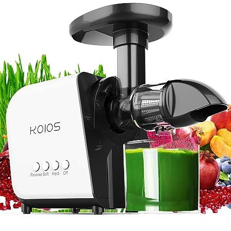 Exprimidor KOIOS, extractor de exprimidor de masticación lenta ...