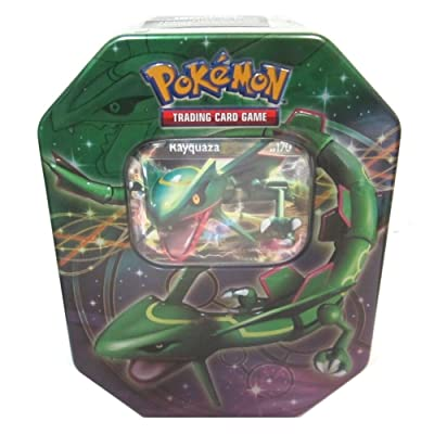2012 Pokemon Dragons Exalted Rayquaza-EX Legendary Collector's Tin - Pokemon ...