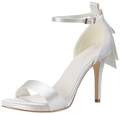 pretty nice 4ca11 5ca98 Menbur Wedding Débora, Scarpe col Tacco con Cinturino a T ...