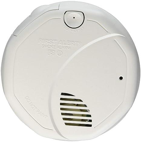 First Alert/BRK marcas humo alarma 120 V W/recargable sa773cn