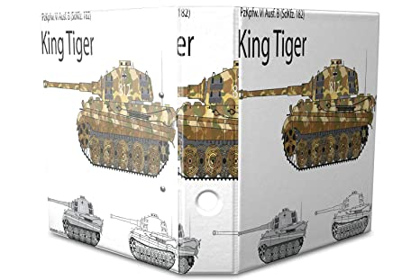 Archivador A4 Carpeta 2 anillas 60mm impreso Tanque Tiger