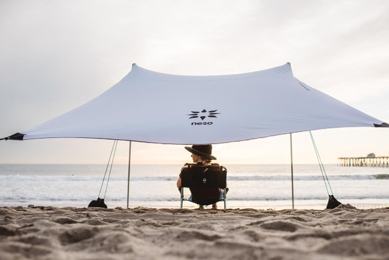 Neso Tienda de campaña Tents Beach con Ancla de Arena, toldo portátil Sunshade - 2.1mx 2.1m - Esquinas reforzadas patentadas(Color)