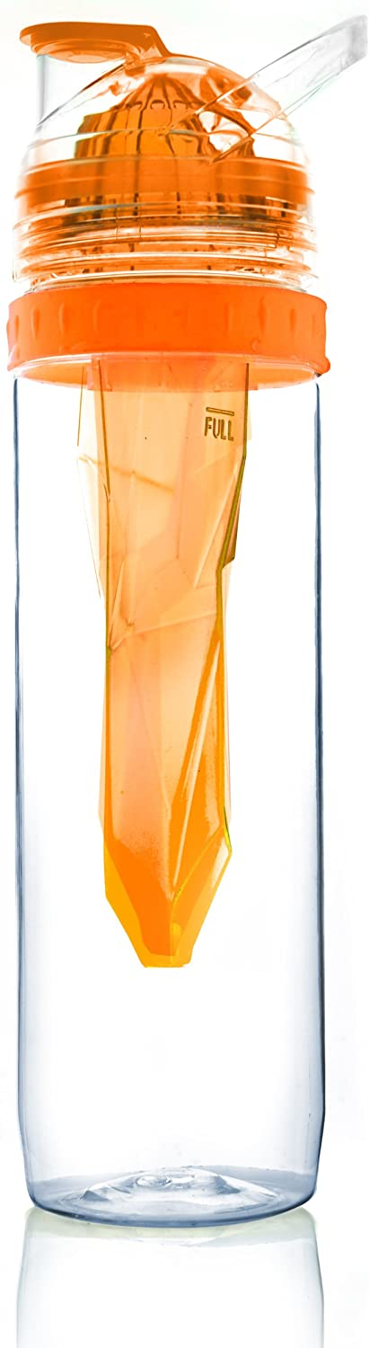 Asobu Citrus 2 Go Water Bottle, Orange