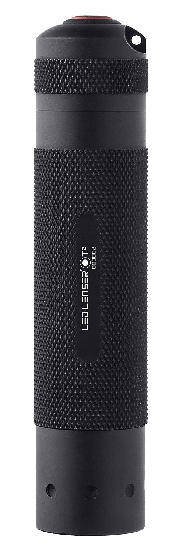 Black - Gift Box Ledlenser T2 Tactical LED Torch 9802
