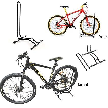 Soporte de suelo para bicicleta, individual; rejilla de soporte para aparcar bicicletas