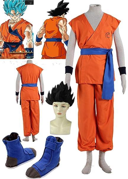 Amazon.com: Dragon Ball Sun Wukong Traje de entrenamiento ...