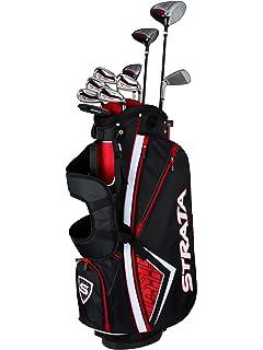 Amazon.com : Callaway Men's Strata Plus Complete Golf Set (16-Piece on