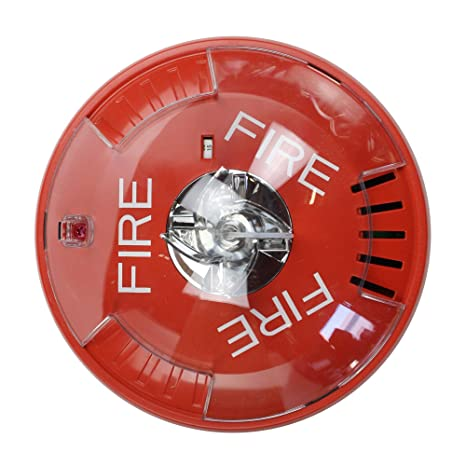 Wheelock Hsrc Hsc Series Red Ceiling Mount Fire Alarm Signal ...