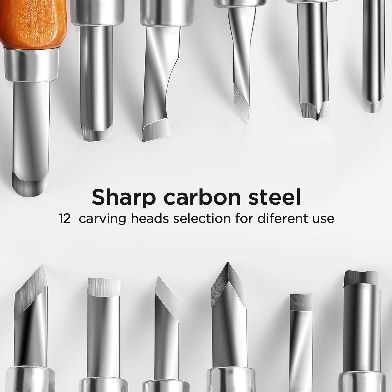 Gimars 12 Set SK5 Carbon Steel Tools for Kids & Beginners