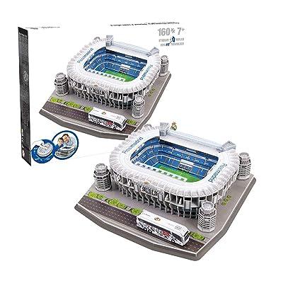 Nanostad Real Madrid Santiago Bernabeu Stadium 3D Puzzle: Toys & Games