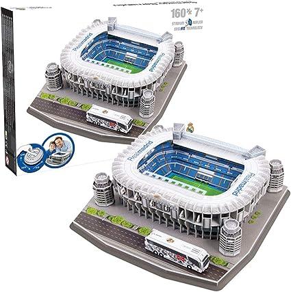 Nanostand Real Madrid F C Santiago Bernabeu Puzzle Multicoloured One Size Amazon Co Uk Sports Outdoors