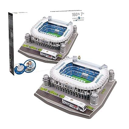 Amazon.com: Rompecabezas en 3D del estadio Santiago Bernabeu ...