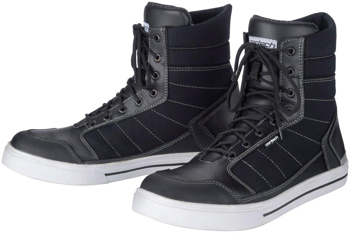 Cortech 8514-6505-45 Men's Vice WP Riding Shoe(White/Black, Size 11), 1 Pack