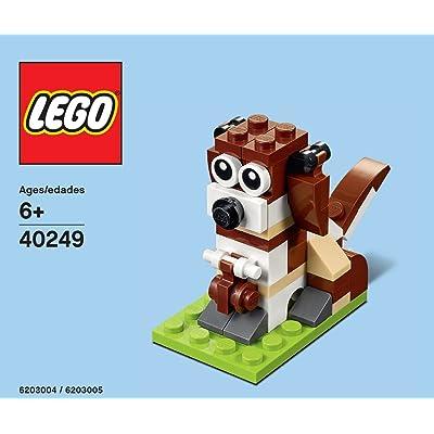 LEGO 40249 St. Bernard Dog Monthly Mini Build Polybag Set: Toys & Games
