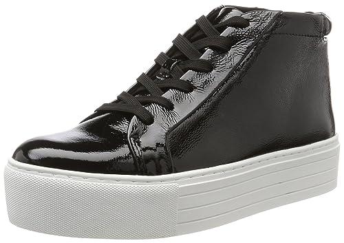 Kenneth Cole Janette, Sneaker a Collo Alto Donna, Nero (Black), 41 EU