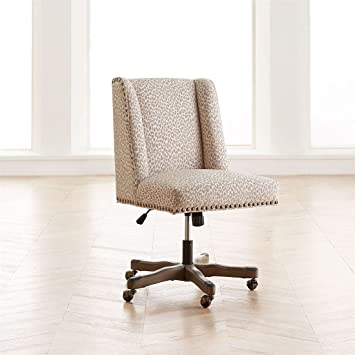 leopard office chair. Brylanehome Quincy Office Chair (Stone Leopard,0) Leopard