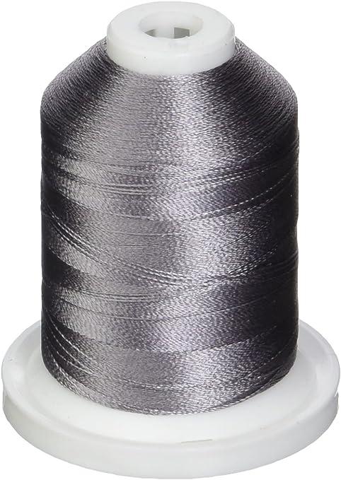 Solid Colors Black Robison-Anton Rayon Super Strength Thread 1100-Yard