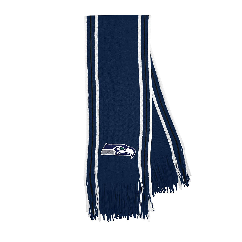 2b54d0d7 Littlearth NFL Unisex NFL Stripe Fringe Scarf