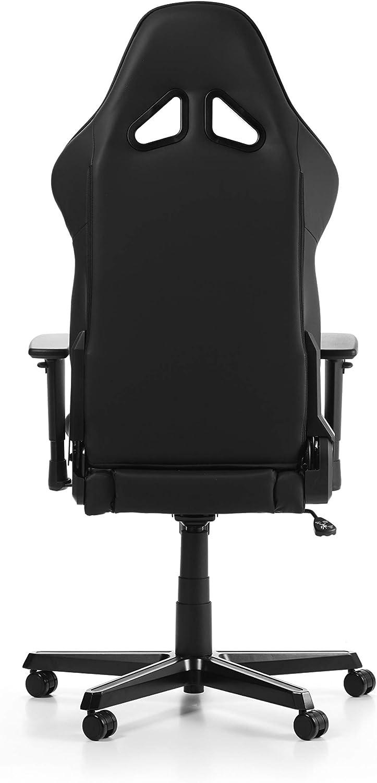 DXRacer (l'original) Racing R0 Chaise Gaming, Similicuir, Noir, 165-195 cm